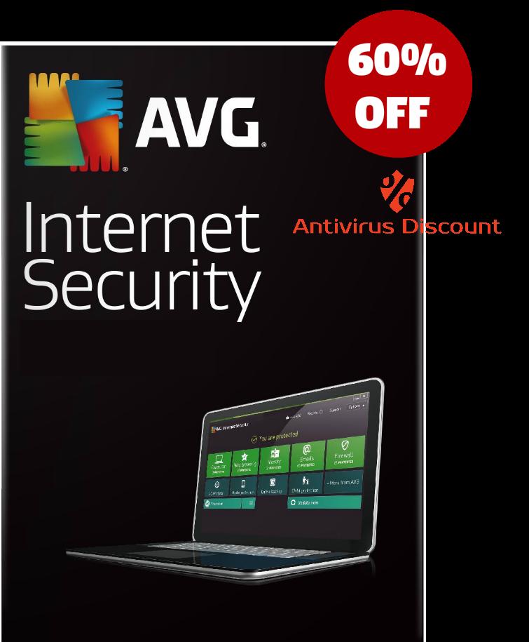 Buy AVG Internet Security 2015-2016 (1Year 3PCs) (Download) - Antivirus Discount