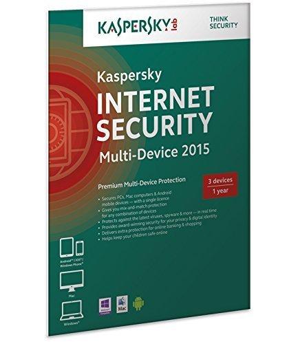 kaspersky internet security multi device 3 user 1 year. Black Bedroom Furniture Sets. Home Design Ideas